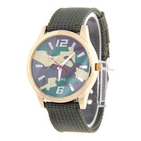 475 High quality with competitive price Fashion Weaving Army wrist Watch Nylon Watch Strap from professional manuffacture