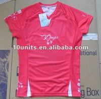 Design Woman's Sublimated Sport running shirt for ladies