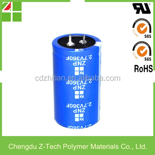 solar super capacitor 2000f 2.7v supercapacitor battery replacement