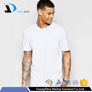 Daijun high quality 200g men white 100% short sleeve cotton crew neck custom t shirt printing