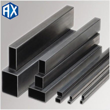 erw weld carbon square tube!square pipe sizes electronic black and mild