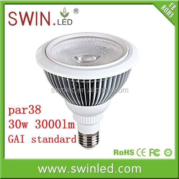led 30w e27 dimmable par38 parlights
