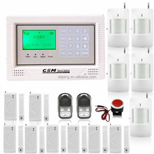 remote control gsm alarm security touch screen alarm system with auto dialer &home automation security alarm system