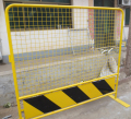 Vehicle Restraint Urban Traffic Barrier in Safety Colour