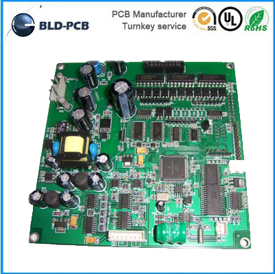 OEM Electronic PCB FR4 pcb assembly factory Aluminum LED PCB Double Sided circuit board design