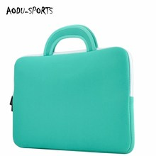 Professional factory made cheap neoprene laptop cover tote computer bag