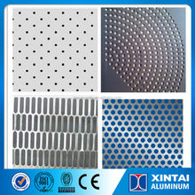 Perforated Aluminum Cladding Sheet, Wall Cladding Perforated Metal Panels Plate