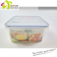 Wholesale Eco-friendly Plastic Bento Box Airtight Seal Food Storage Container