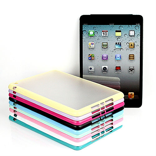 Colorful Clear Hybrid Bumper Back Transparent TPU+PC Case Cover for iPad Air 5
