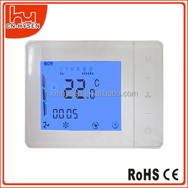 Termostato digital programable para aire acondicionado for Termostato digital calefaccion programable