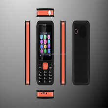feature phone Boss 66 OEM ODM quad band dual sim big battery phone with torch