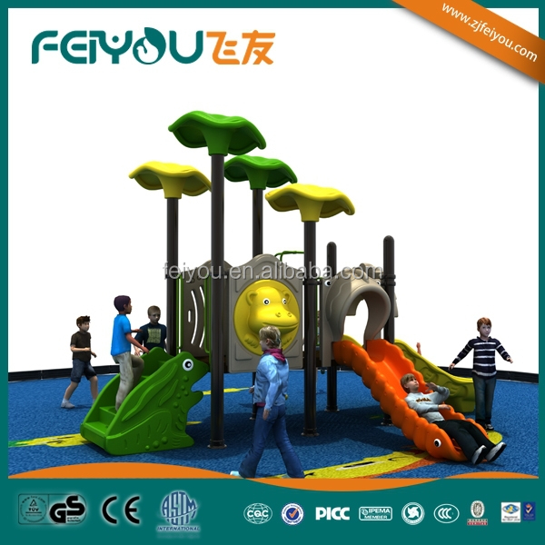 Animal World Serie Plastic Children Outdoor Playground