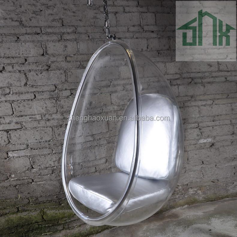 eero aarnio style hanging ball chair bubble chair