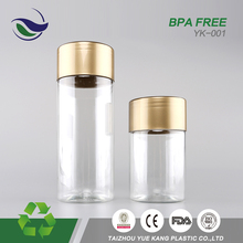 mexico manufacturers custom label pet bpa free food grade jar plastic 250 ml pharmacy pill bottle