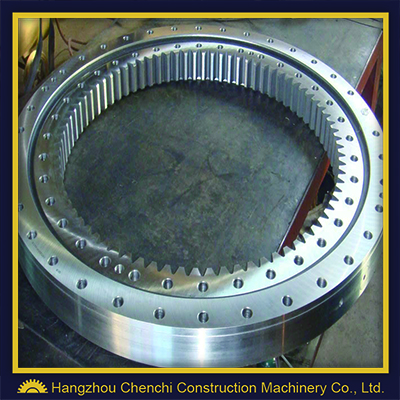 SH55 swing bearings swing circles excavator slewing ring rotary bearing travel and swing parts