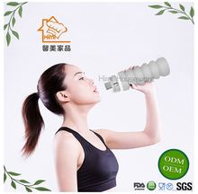 HIMI Cycling/Bike/Bicycle foldable Sports bottle reusable silicone drinking water bottle