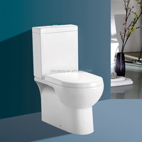 Cheap price hot sale high quality P-trap washdown ceramic sanitary ware two piece toilet