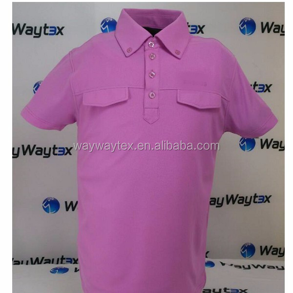 100% polyester quick dry fabric golf polo shirt for men