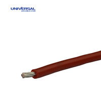 Tinned Copper Conductor PVC Insulation UL1007 Hook Up Wire
