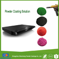 RAL9005 black Sandy spray powder coating for DVD