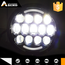 7 inch Led Headlamp 78w for jeep wrangler With angel eyes 4X4 Accessories Off road