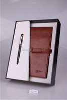 Pen and notebook with USB function for business gift
