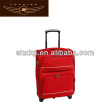 polyester sports luggage 2014 stock eva trolley case