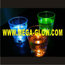 2014 led Light Up Shot Glass, Flashing Shot Glass