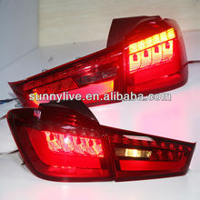 2012-2014 Year OUTLANDER SPORT ASX RVR LED TAIL LAMP Rearlight Red Black Color YZV1