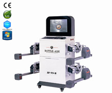 2015 laser wheel alignment equipment,ccd wheel alignment,bluetooth wheel aligner with CE
