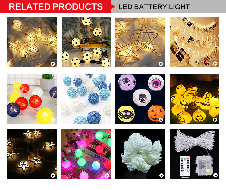 Battery Powered 10/20/40 LED Photo Peg Clip LED Fairy String Lights Birthday Party Decorations