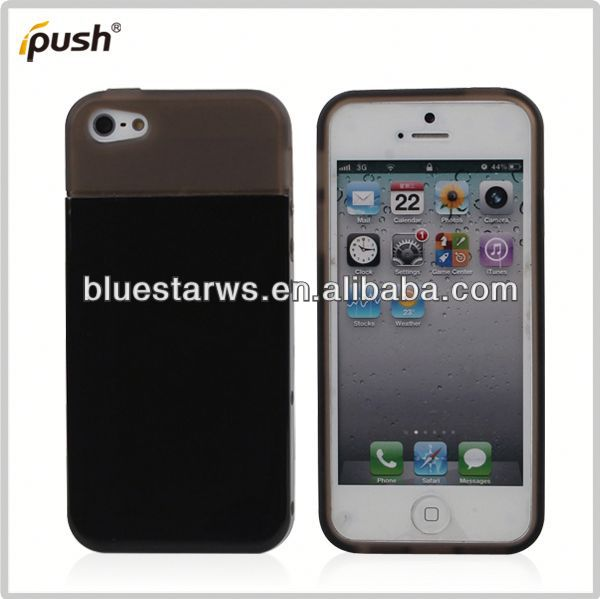 Buy direct from china manufacturer cell phone case pc combo for iphone5 pc tpu bumper for iphone5