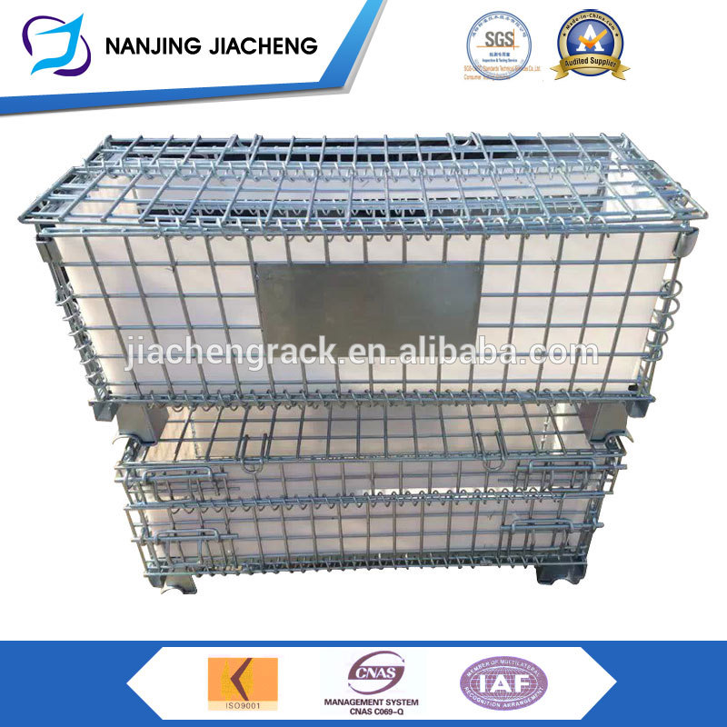 Professional factory wholesale price heavy duty folding metal wire cage