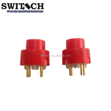 free sample SPST push button switch with 2 pins PCB terminals replace NKK,On off electrical switch