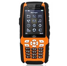 waterproof rugged phone 2.4 inch CDMA/GSM waterproof dustproof and shockproof mobile phone 3 sim card