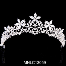 High Quality factory directly jewelry wedding crown tiara