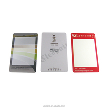 Reasonable Price PVC 2750oe hico Silver magnetic stripe rewrite card