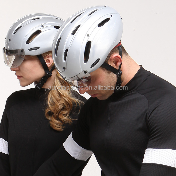 New tt aero helmet with ce approved; aerodynamic Cycling Race TT bicycle Helmet with CE EN 1078