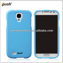 2 pcs Front And Back Rubber Matte quicksand plastic Hard back Case Cover for samsung galaxy S4 cell case