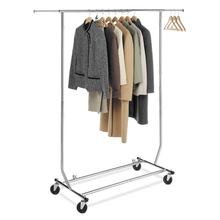 Foldable Clothing Garment Rolling Clothes Drying Rack