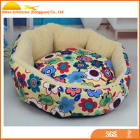 Softable flower printed dog bed cat bed samll animal bed