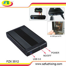 Hot!! usb3.0 to 3.5 External hdd Enclosure to SATA and IDE