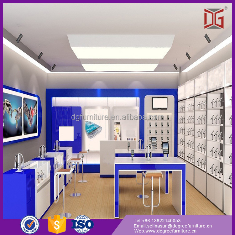 Professional Cell Phone Store Furniture Design For Mobile Shop