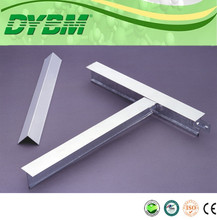 suspended flat ceiling t-bar ,t-bar for ceiling steel t-bar size