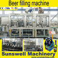 bottled beer filler crowner production line