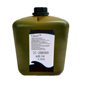 Small character cij inkjet printer consumables  0.825L black pigment ink IC-2BK009  for domino printer
