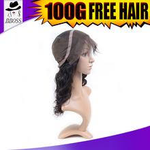 Best wholesale price deep wave full lace human hair wigs 8 inches