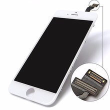 High quality super high copy AUO mobile phone lcd touch screen lowest price in market for iphone 6