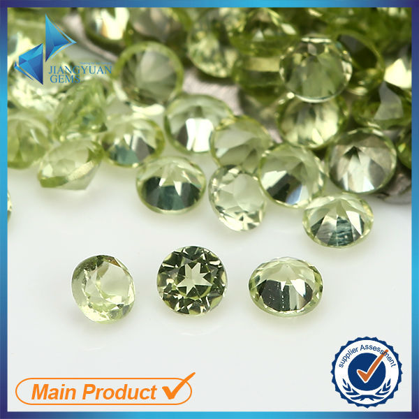 wholesale loose round shape natural peridot best price