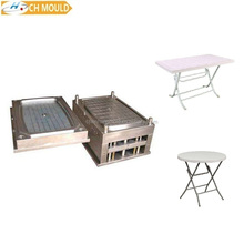mould factory new custom design top selling plastic folding side banquet table injection mould